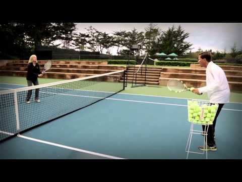 Pebble Beach Short Tennis Lesson