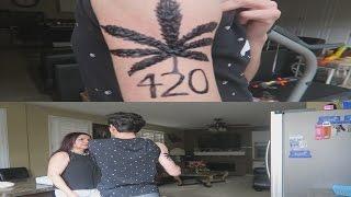 FAKE WEED TATTOO PRANK ON MY MOM!! | FaZe Rug
