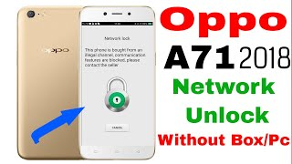 Oppo A71 pattern + frp remove from umt 2018/ 1000% easy ok - S K