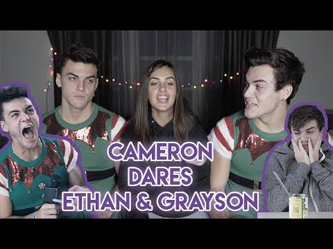Cameron Dares Ethan And Grayson