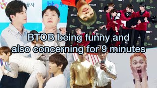 BTOB being funny and also concerning for 9 minutes | funny BTOB moments