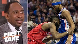 76ers are a bigger title threat than the Rockets – Stephen A. | First Take