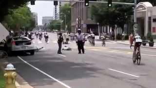 Tai nạn giao thông nghiêm trọng khi đua xe đạp