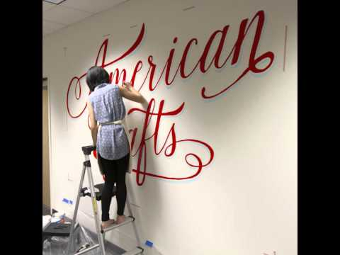 American Crafts Mural