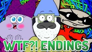 Top 10 WTF Cartoon Endings