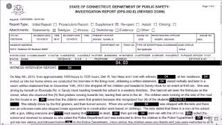 Sandy Hook Woman who took five kids to the SH PD. May '13 statement