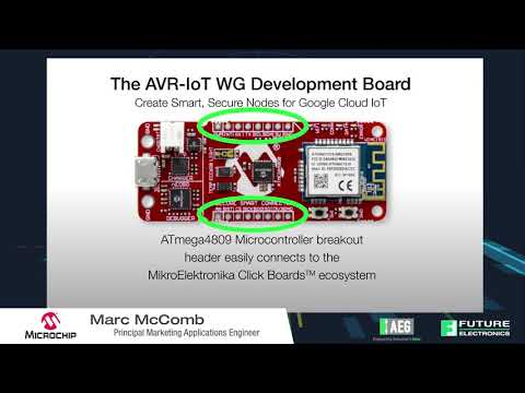 AEU 2018 – Microchip AVR IoT Platform