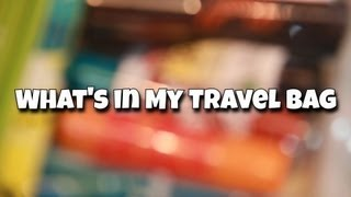 What's in my Travel Makeup Bag - TAG!