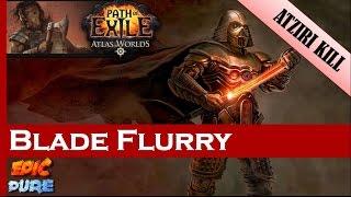 [Path of Exile 2.5] Dps Test run: Atziri vs Blade Flurry Berserker (87)