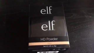Elf HD powder review ➕ demo