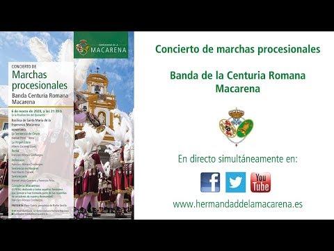 Concierto de la Banda de Cornetas y Tambores de la Centuria Romana Macarena