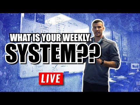 What Is Your Weekly System?? [Insurance Agent Training]