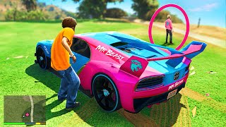 Stealing YOUTUBERS SUPERCARS In GTA 5!