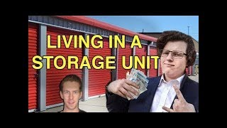 The WORST MTV Cribs Ever (Illegally Living In A Storage Unit) -- LewReview