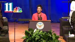 Keisha Lance Bottoms' first speech as Atlanta's mayor; full length