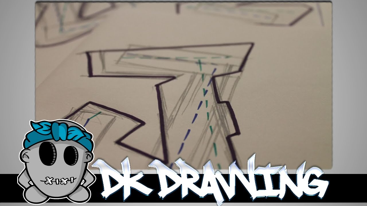 Image Result For Easy Drawing Graffiti