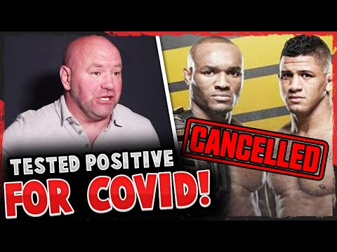 BREAKING! Gilbert Burns OUT of UFC 251 due to testing positive for COVID-19, Colby Covington, Dana