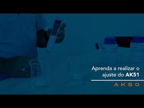 Aprenda a realizar o ajuste do Medidor de Condutividade AK51