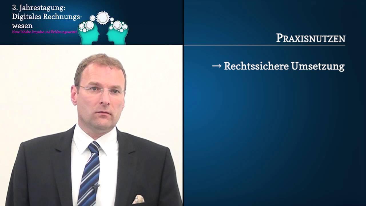 Video zum Seminar Jahrestagung Digitales Rechnungswesen