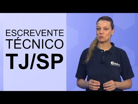 Concurso Escrevente Técnico do TJ/SP