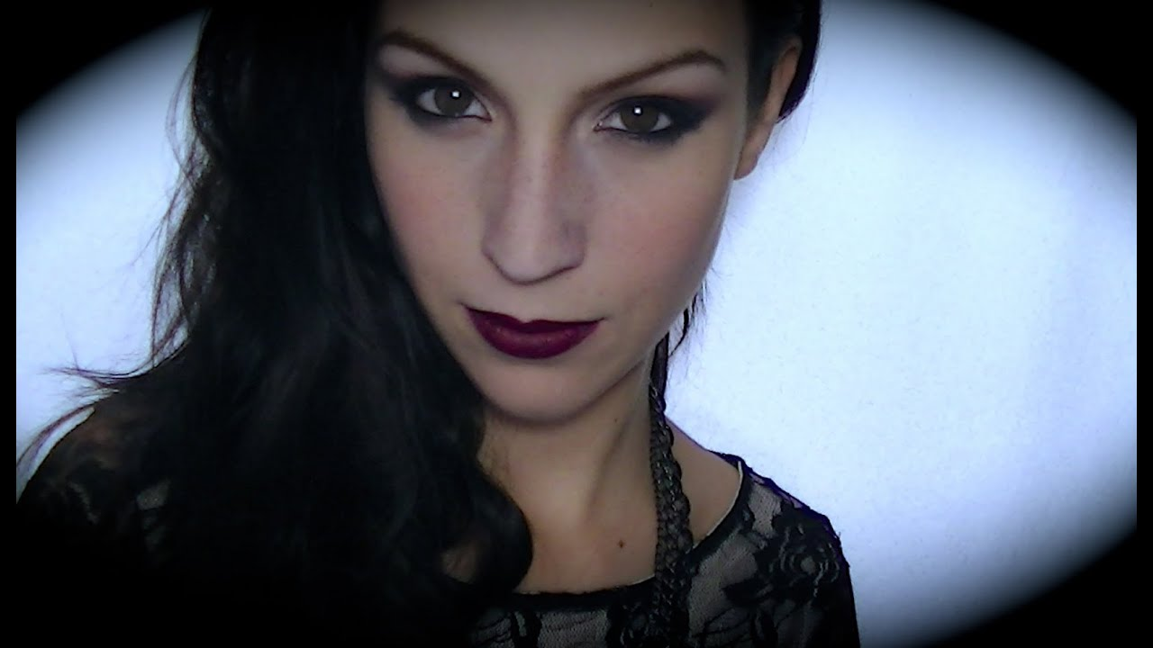 maquillage d 39 halloween vampire sexy glamour youtube