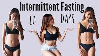I Tried Intermittent Fasting for 10 DAYS | WHAT I EAT EVERYDAY (Before & After Results) 10天間歇禁食