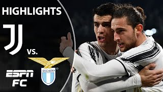 Juventus dominates Lazio as Alvaro Morata scores twice | ESPN FC Serie A Highlights