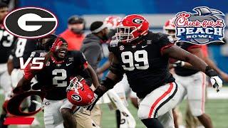 #9 Georgia Highlights Vs. #8 Cincinnati 2021 | CFA Peach Bowl  | (Scott Howard Radio Call)
