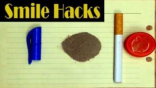 Simple Life Hacks with smoking & plastic bottles by Simple Hacks- 2017