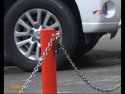 Парковочных блокираторов в Сочи становится больше с каждым днем
