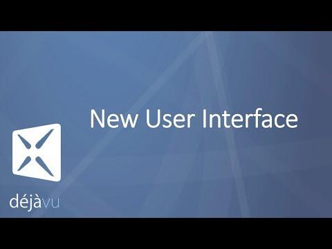 Déjà Vu X3 New User Interface