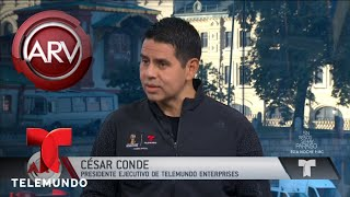 Es un día histórico para Telemundo: César Conde | Al Rojo Vivo | Telemundo