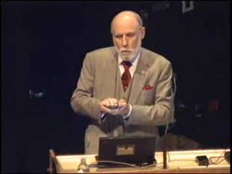 Vinton Cerf, Google Internet Evangelist, live at Calit2