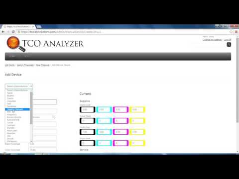 Quick Add Device / Manual Add Device | TCO Analyzer Training Video
