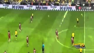 أهداف مباراة بوروسيا دورتموند وبايرن ميونخ 2-0 كأس السوبر الألماني
