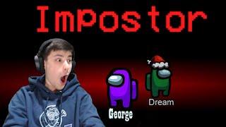 Dream and George Speedrun AMONG US!!