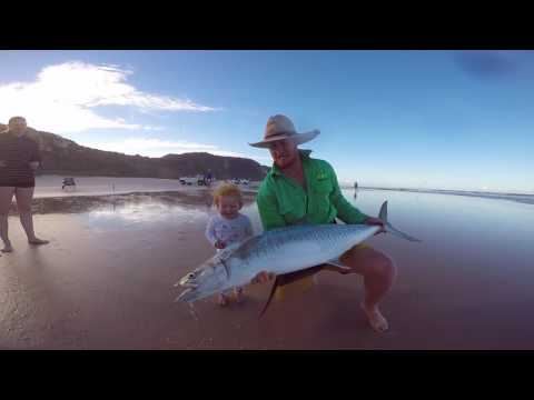 Drone Fishing Fraser Island