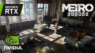 Metro Exodus - GeForce RTX Videó