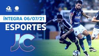 Esportes no Jornal da Cidade   terça, 06/07/2021