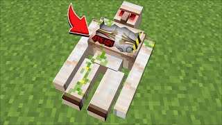 Minecraft TAKING DNA FROM A VILLAGE GOLEM MOD / SPAWN MORE GOLEMS TO FIGHT ZOMBIE !! Minecraft Mods