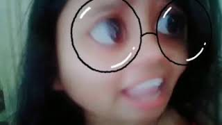 Amanda Melody ! Telugu ! Unable to understand English.. tic tok/ musically / b612 viral video