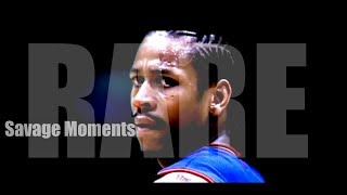 Allen Iverson RARE and SAVAGE Moments!! ᴴᴰ Watch Til END! (EMOTIONAL)
