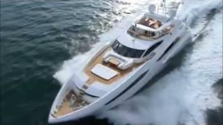 Vidéo d'un yacht de luxe