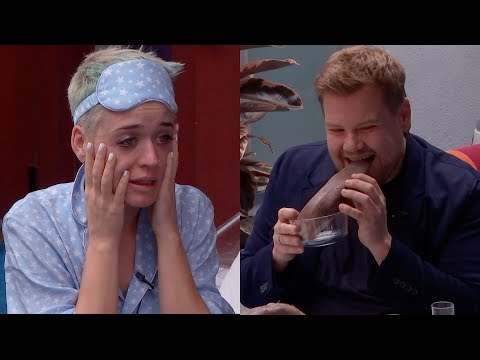 Katy Perry - Spills Her Guts With James Corden (Witness World Wide)