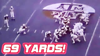 Longest Field Goals in College Football History (64+ Yards!)