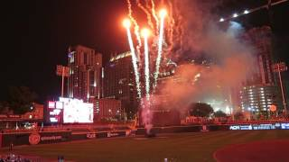Fireworks Show in Charlotte NC BB&T Ball Park