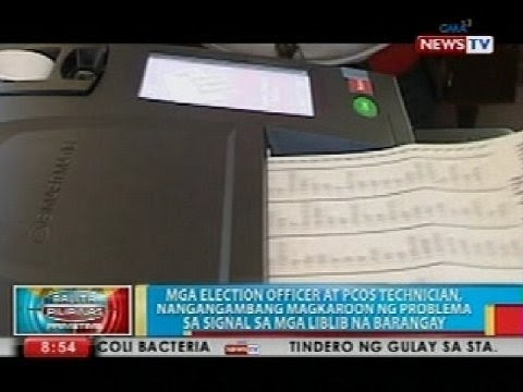 BP: Final Testing And Sealing Ng PCOS Machines, Sinimulan Na Sa Iba't Ibang Presinto - Smashpipe News Video