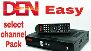 DEN cable package Channel Pack for DEN Cable Network set top box with app Easyly