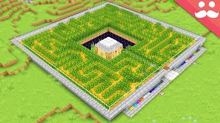 I Made a Peaceful Safe House in Minecraft