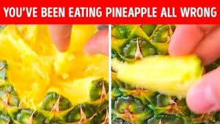 You've Been Always Eating Pineapple Wrong, Stop It!